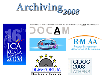Archiving 2008